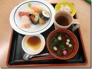 寿司の日メニュー